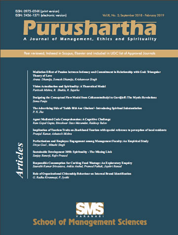 Purushartha Bi Annual Journal SMS VARANASI